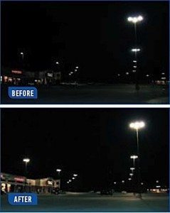 Led Retrofit Saves Mall On Outdoor