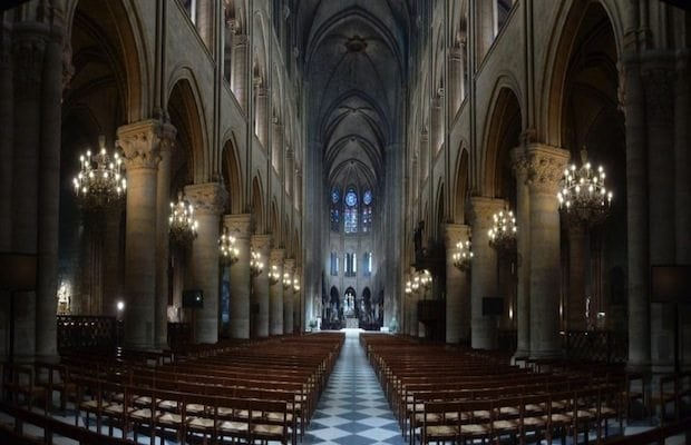 Paris S Notre Dame Cathedral Transformed By Led Lighting