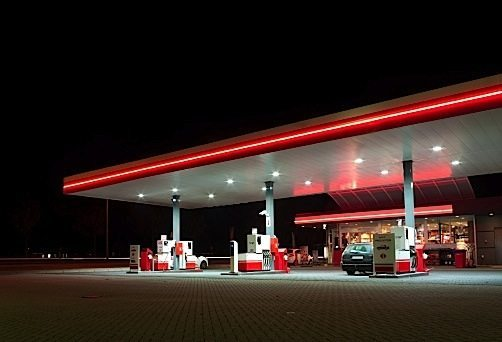 Canopy lights are just one area where LEDs can help convenience stores, gas stations and all-night stores save money. Some owners have seen savings as high as 70 per cent compared to non-LED lights. Payback on the investment in LEDs can be as little as a couple of years.